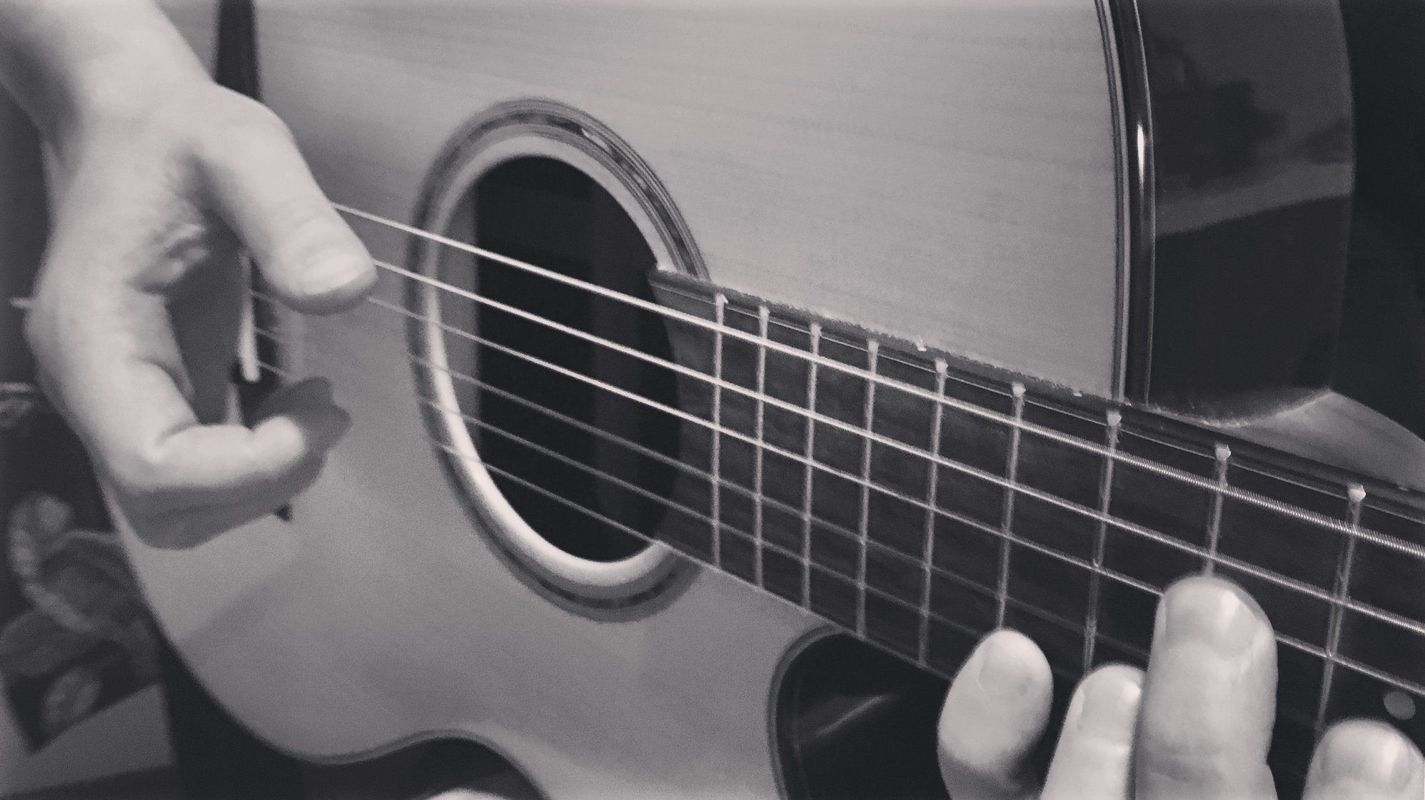 Songwriting with guitar - Ghosts Welcome