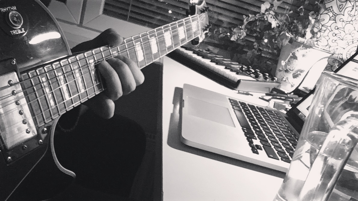 Forming a band is not the easiest thing to do. Songwriting solo is easier.
