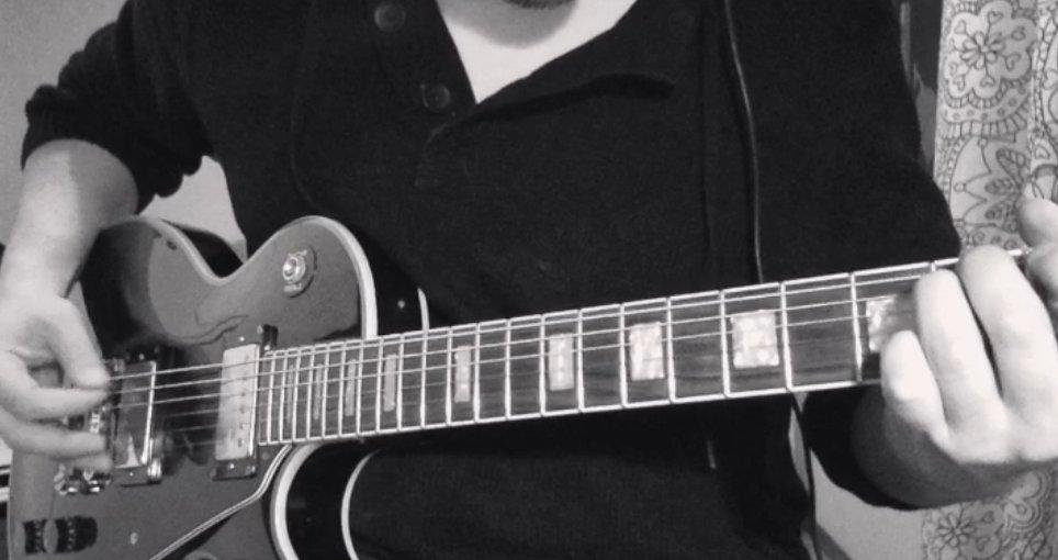 Drop-D guitar riff to entertain my evening