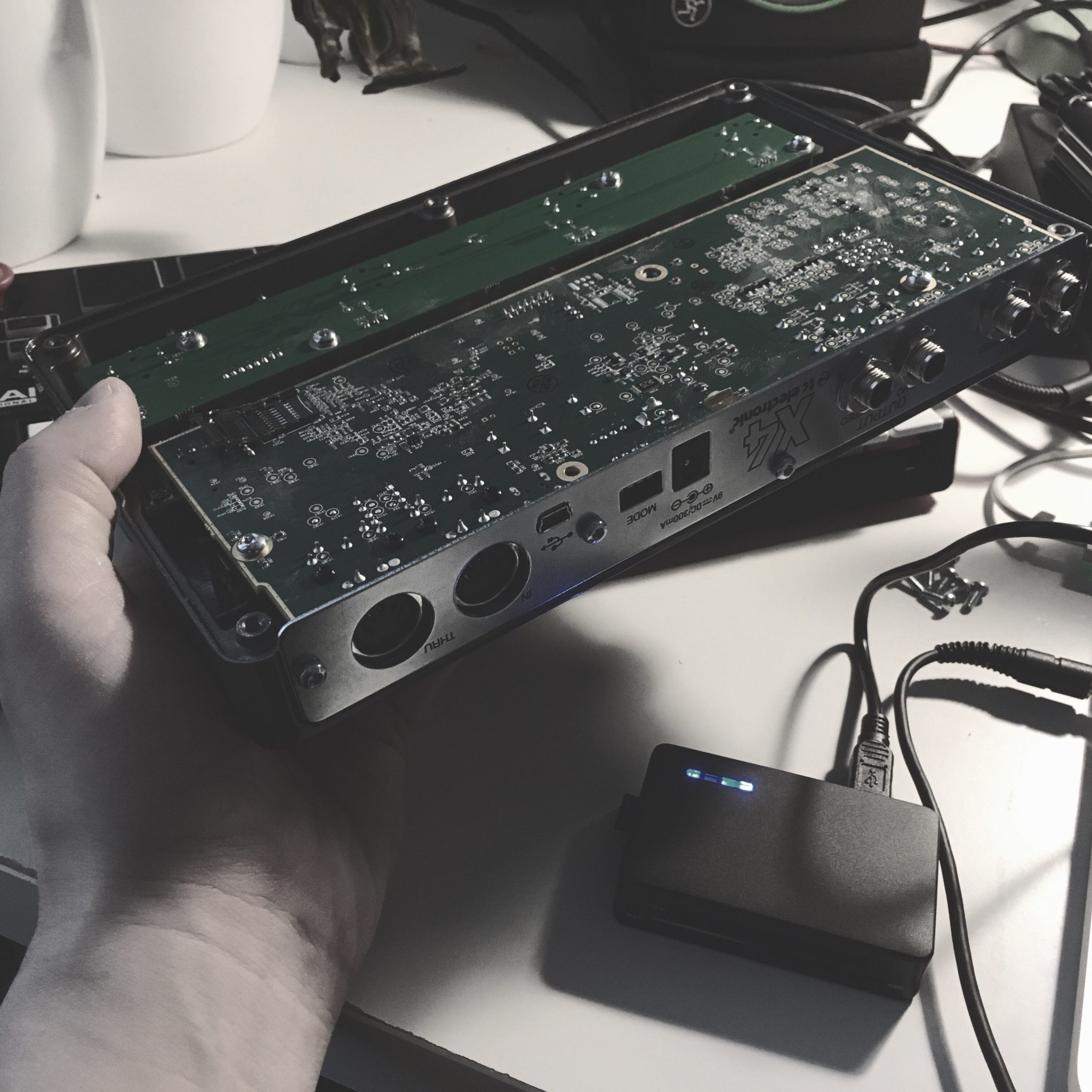 Don't be a DIY musician like me and try to repair your gear by yourself