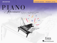 Piano Adventures Primer Level - Lesson Book (2nd Edition) Sheet Music by Randall Faber