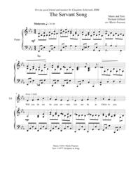 The Servant Song SATB Piano (version 1) Sheet Music by Richard Gillard