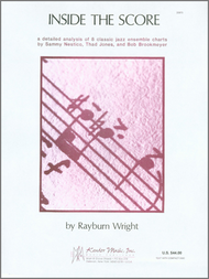 Inside The Score (Book & CD) Sheet Music by Rayburn Wright