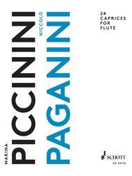 24 Caprices Sheet Music by Nicolo Paganini