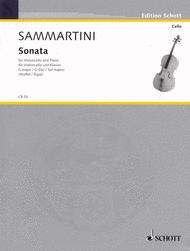 Sonata G Major Sheet Music by Giovanni Battista Sammartini
