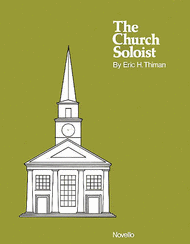 The Church Soloist - Eight Sacred Songs Sheet Music by Eric H. Thiman