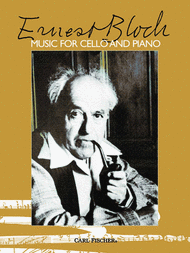 Music For Cello And Piano Sheet Music by Ernest Bloch