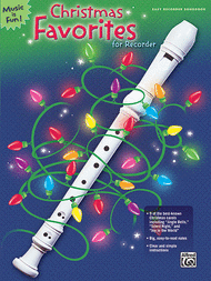 Christmas Favorites for Recorder Sheet Music by L.C. Harnsberger