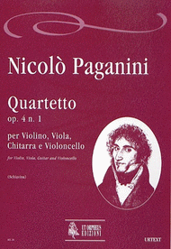 Quartet Op. 4 No. 1 Sheet Music by Nicolo Paganini