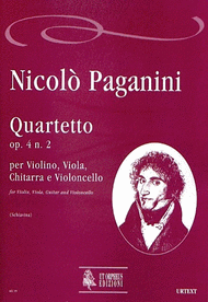 Quartet Op. 4 No. 2 Sheet Music by Nicolo Paganini