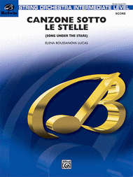 Canzone Sotto Le Stelle Sheet Music by Elena Roussanova Lucas