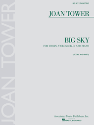 Big Sky Sheet Music by Joan Tower