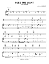 I See The Light (from Disney's Tangled) Sheet Music by Tangled (Movie)