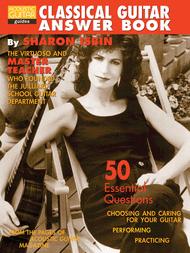 Classical Guitar Answer Book Sheet Music by Sharon Isbin