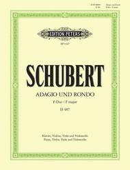 Adagio and Rondo in F Sheet Music by Franz Schubert