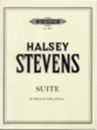 Suite Sheet Music by Halsey Stevens
