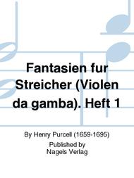 Fantasien fur Streicher (Violen da gamba). Heft 1 Sheet Music by Henry Purcell
