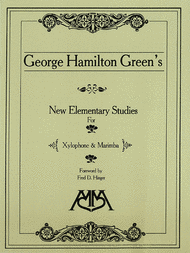 New Elementary Studies for Xylophone and Marimba Sheet Music by George Hamilton Green