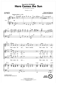 Here Comes The Sun (arr. Mac Huff) Sheet Music by The Beatles