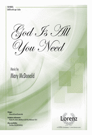 God Is All You Need Sheet Music by Mary McDonald