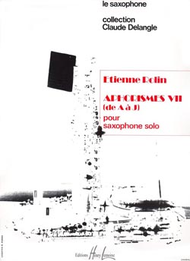 Aphorismes VII Sheet Music by Etienne Rolin