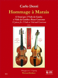 Hommage a Marais. 12 Pieces Sheet Music by Carlo Denti