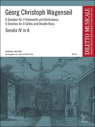 Sonate 4 A-Dur Sheet Music by Georg Christoph Wagenseil