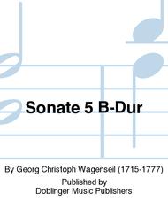 Sonate 5 B-Dur Sheet Music by Georg Christoph Wagenseil
