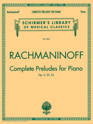 Complete Preludes For Piano (Op. 3