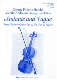 Andante & Fugue F/Concerto Grosso Op. 3/No. 5