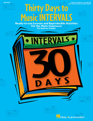 Thirty Days to Music Intervals Sheet Music by Audrey Snyder
