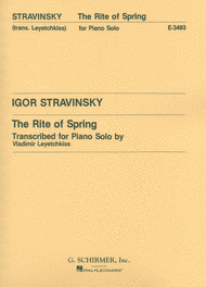 Rite of Spring (Le Sacre du Printemps) Sheet Music by Igor Stravinsky