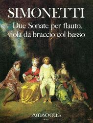 Due Sonate a tre Sheet Music by Giovanni Paolo Simonetti