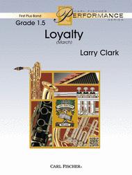 Loyalty Sheet Music by Larry Clark
