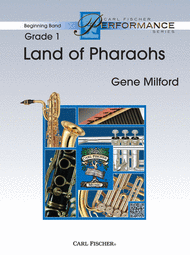 Land of Pharaohs Sheet Music by Gene Milford