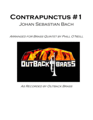 Contrapunctus #1 Sheet Music by Johann Sebastian Bach