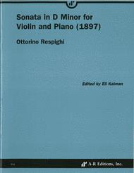 Sonata in D Minor for Violin and Piano (1897) Sheet Music by Ottorino Respighi