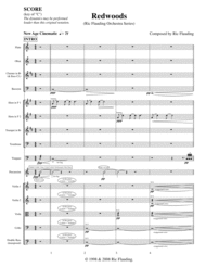 Redwoods (Orchestra) Sheet Music by Ric Flauding