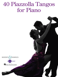 40 Piazzolla Tangos for Piano Sheet Music by Astor Piazzolla