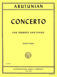 Trumpet Concerto Sheet Music by Alexander Arutunian