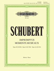 Impromptus and Moments Musicaux Sheet Music by Franz Schubert