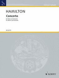 Concerto Sheet Music by Iain Hamilton