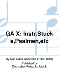 Complete Works - Urtext Sheet Music by Don Carlo Gesualdo