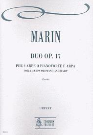 Duo Op. 17 Sheet Music by Marie-Martin Marin