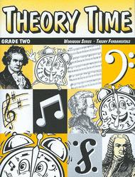 Theory Time Grade 2 Workbook Sheet Music by Heather Rathnau