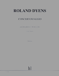 Concertomaggio Sheet Music by Roland Dyens