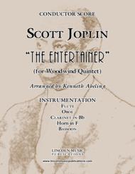 "Joplin - ""The Entertainer"" (for Woodwind Quintet) Sheet Music by Scott Joplin?"