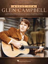 Best of Glen Campbell Sheet Music by Glen Campbell