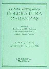 The Estelle Liebling Book of Coloratura Cadenzas Sheet Music by Estelle Liebling