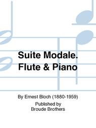Suite Modale Sheet Music by Ernest Bloch